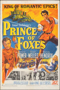 """Movie Posters:Adventure, Prince of Foxes (20th Century Fox, 1949). Folded, Fine+. One Sheet (27"""" X 41""""). Adventure.. ..."""