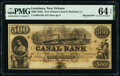 Obsoletes By State:Louisiana, New Orleans, LA- Canal Bank $500 18__ Remainder PMG Choice Uncirculated 64 EPQ.. ...