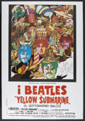"Movie Posters:Animated, Yellow Submarine (United Artists, 1968). Italian 2 - Folio (39"" X 55""). Animated...."