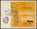 """Movie Posters:Comedy, The Ladykillers (Continental, 1956). Half Sheet (22"""" X 28""""). Comedy. Starring Alec Guinness, Cecil Parker, Herbert Lom and P..."""