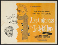 """The Ladykillers (Continental, 1956). Half Sheet (22"""" X 28""""). Comedy. Starring Alec Guinness, Cecil Parker, Her..."""