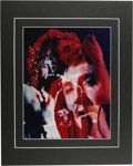 "Music Memorabilia:Photos, The Who Rare Photo Illustration. An 11"" x 14"" color photoillustration of the band, comprised of images taken during theirN..."