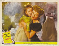 "Movie Posters:Musical, Meet Me in St. Louis (MGM, 1944). Lobby Cards (3) (11"" X 14""). This lot of three cards includes the spectacular close-up of ... (Total: 3 Item)"