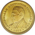 Commemorative Gold: , 1905 G$1 Lewis and Clark MS66 PCGS. Paul Gilkes, in an April 4,1996 Coin World article, wrote that the design of the L...