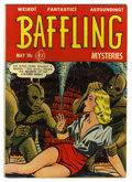 Golden Age (1938-1955):Horror, Baffling Mysteries #8 (Ace, 1952) Condition: VG/FN....