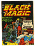 Golden Age (1938-1955):Horror, Black Magic #13 (Prize, 1952) Condition: VG+....