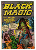 Golden Age (1938-1955):Horror, Black Magic #32 (Prize, 1954) Condition: FN-....