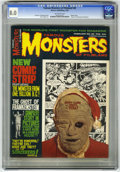"Magazines:Horror, Famous Monsters of Filmland #48 (Warren, 1968) CGC VF 8.0 Off-white pages. Photo cover. ""Ghost of Frankenstein"" filmbook. To..."