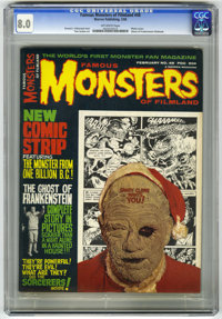 Famous Monsters of Filmland #48 (Warren, 1968) CGC VF 8.0