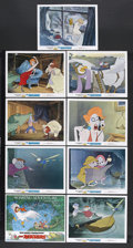 "Movie Posters:Animated, The Rescuers (Buena Vista, 1977). Lobby Card Set of 9 (11"" X 14""). Animated. Starring the voices of Bob Newhart, Eva Gabor, ... (Total: 9 Items)"