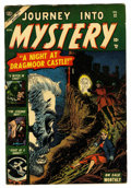 Golden Age (1938-1955):Horror, Journey Into Mystery #12 (Marvel, 1953) Condition: VG+....