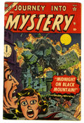 Golden Age (1938-1955):Horror, Journey Into Mystery #17 (Marvel, 1954) Condition: VG+....