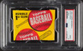 Baseball Cards:Unopened Packs/Display Boxes, 1963 Topps Baseball 1-Cent Unopened Wax Pack PSA Mint 9....