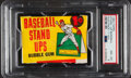 Baseball Cards:Unopened Packs/Display Boxes, 1964 Topps Stand-Up Baseball 1-Cent Unopened Wax Pack PSA NM-MT 8....