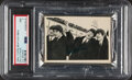 """Non-Sport Cards:Unopened Packs/Display Boxes, 1964 Beatles """"Black & White"""" 3rd Series Cello Pack PSA NM 7...."""