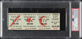 Miscellaneous Collectibles:General, 1969 Woodstock Full Ticket, PSA Gem Mint 10....