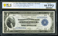 Fr. 719 $1 1918 Federal Reserve Bank Note PCGS Banknote Gem Unc 66 PPQ