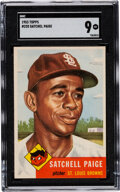Baseball Cards:Singles (1950-1959), 1953 Topps Satchell Paige #220 SGC Mint 9 - The Reigning SGC Champion!...