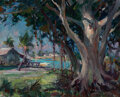 Paintings, Emile Albert Gruppe (American, 1896-1978). Florida. Oil on canvasboard. 16 x 20 inches (40.6 x 50.8 cm). Signed lower ri...
