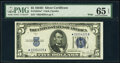 Small Size:Silver Certificates, Fr. 1654* $5 1934D Wide I Silver Certificate Star. PMG Gem Uncirculated 65 EPQ.. ...