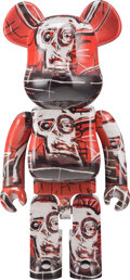 Collectible, BE@RBRICK X The Estate of Jean-Michel Basquiat. Jean-Michel Basquiat #5 1000%, 2020. Painted cast resin. 27-1/2 x 14 x 9...
