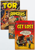 Golden Age (1938-1955):Miscellaneous, Golden Age Comics Group of 18 (Various Publishers, 1950s) Condition: Average FN.... (Total: 18 Comic Books)