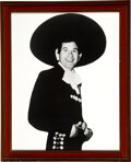Music Memorabilia:Photos, Trini Lopez Large Format Early 60s Personally Owned Photo....