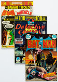 Bronze Age (1970-1979):Superhero, Batman-Related Group of 30 (DC, 1970s) Condition: Average FN.... (Total: 30 Comic Books)