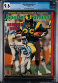 Football Collectibles:Publications, 1983 Eric Dickerson Sports Illustrated Cover - CGC 9.6 Pop One With None Higher!...