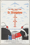 "Movie Posters:Comedy, Dr. Strangelove or: How I Learned to Stop Worrying and Love the Bomb (Columbia, 1964). Folded, Very Fine-. One Sheet (27"" X ..."