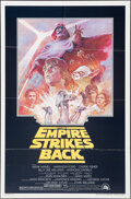 """Movie Posters:Science Fiction, The Empire Strikes Back (20th Century Fox, R-1981). Folded, Fine. One Sheet (27"""" X 41"""") Tom Jung Artwork. Science Fiction.. ..."""