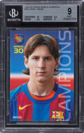 Miscellaneous Collectibles:General, 2004 Panini Barca Campeon Lionel Messi #35 BGS Mint 9....
