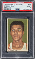 Boxing Cards:General, 1960 Hemmets Journal Cassius Clay (Muhammad Ali) Rookie #23 PSA Mint 9 - Only One Superior. ...