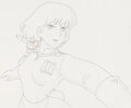 Animation Art:Production Drawing, Nausicaä of the Valley of the Wind Teto and Nausicaä Animation Drawing (Topcraft, 1984)....