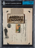 Autographs:Others, Clark Griffith Signed Cut Display....