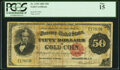 Large Size:Gold Certificates, Fr. 1195 $50 1882 Gold Certificate PCGS Fine 15.. ...