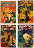 Pulps:Detective, The Phantom Detective Group of 28 (Standard Magazines, 1933-51) Condition: Apparent GD/VG.... (Total: 28 Items)
