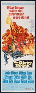 Movie/TV Memorabilia:Posters, Trini Lopez Owned The Dirty Dozen Poster....