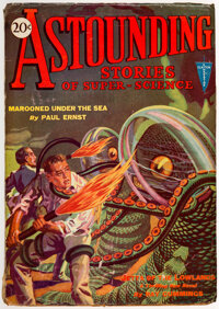 Astounding Stories - September 1930 (Clayton) Condition: GD/VG