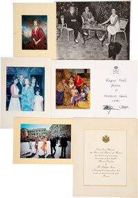 Trini Lopez Owned Photos and Cards from Grace Kelly and Family (14)