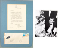 Grace Kelly Signed Letter To Trini Lopez