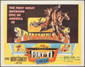 """Movie Posters:Western, Fort Ti (Columbia, 1953). Rolled, Fine/Very Fine. Half Sheet (22"""" X 28"""") 3-D Style. Western.. ..."""