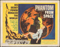 """Movie Posters:Science Fiction, Phantom from Space (United Artists, 1953). Rolled, Very Good/Fine. Half Sheet (22"""" X 28""""). Science Fiction.. ..."""