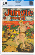 Golden Age (1938-1955):Adventure, Jungle Comics #8 (Fiction House, 1940) CGC FN 6.0 Cream to off-white pages....
