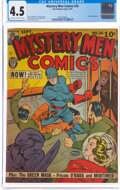 Golden Age (1938-1955):Superhero, Mystery Men Comics #26 (Fox, 1941) CGC VG+ 4.5 Cream to off-white pages....