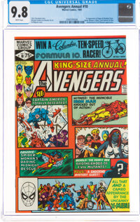 The Avengers Annual #10 (Marvel, 1981) CGC NM/MT 9.8 White pages