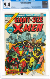 Giant-Size X-Men #1 (Marvel, 1975) CGC NM 9.4 White pages