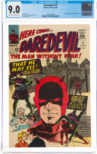 Daredevil #9 (Marvel, 1965) CGC VF/NM 9.0 Off-white to white pages