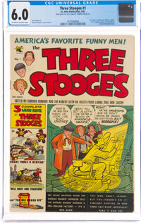 Three Stooges #1 (St. John, 1953) CGC FN 6.0 Off-white to white pages