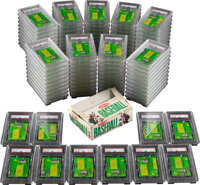 Super Rare 1964 Topps Baseball 1-Cent Unopened Wax Packs & Retail Box (100) - A Near Complete Box!